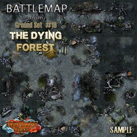 sample ground set 19 - The Dying Forest