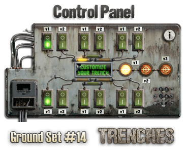 Ground Set Trenches Control Panel
