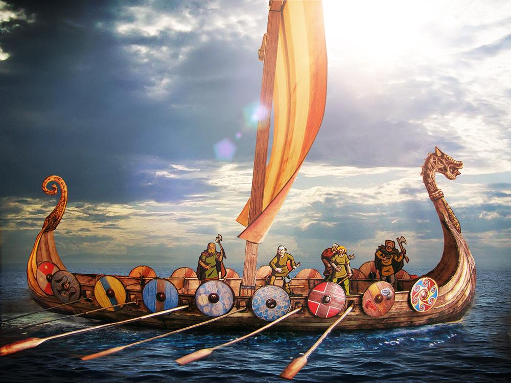 viking longship LZSW